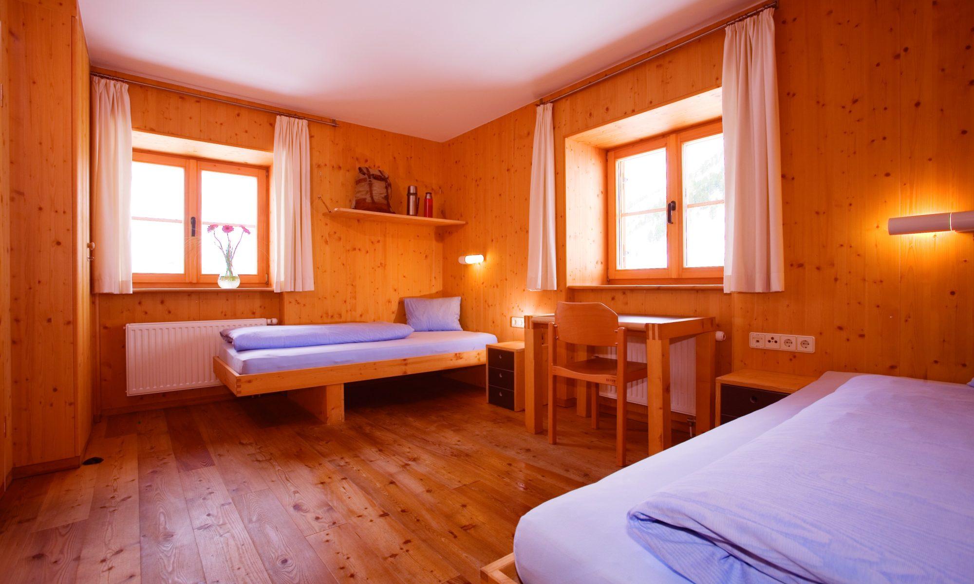 Zimmer im Universitätszentrum Obergurgl